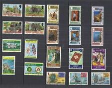 x9184 British Virgin Islands / A Small collection Early  Modern Used
