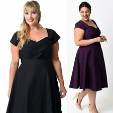 New Women Sexy Summer Plus Size Short Sleeve Party Evening Cocktail Formal Dress