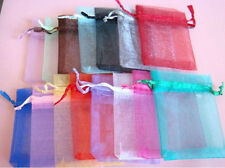 Wholesale 7 Colors Gift Pouch Wedding Favor Organza Bags Size 2.7''*3.5''
