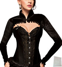sexy full cup Corset Brocade Corset Corset Corset black Bustie Laundry bags