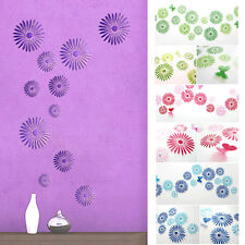 Multicolor Flower Art Dream Room Decor 3D Wall Stickers Kids Room/ Decals