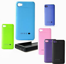 1900mah External Battery Charger Backup Power Case Cover for iphone 4 4G 4S #BJ