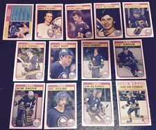 1982-83 OPC BUFFALO SABRES Select from LIST NHL HOCKEY CARDS O-PEE-CHEE
