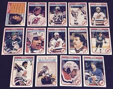 1982-83 OPC NEW JERSEY DEVILS Select from LIST NHL HOCKEY CARDS O-PEE-CHEE