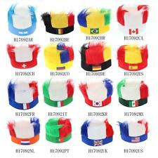 Wig Soccer European Cup FIFA World Cup Sports Carnival Festival Costume I9O8