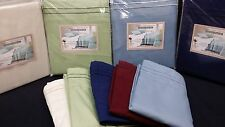 4PC WATERBED SHEET SET - Solid Double Brushed Microfiber - FREE POLE ATTACHMENT