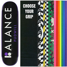 PLAN B Skateboard Deck TOREY PUDWILL ATTRIBUTE 8.1 with GRIPTAPE