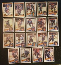 1984-85 OPC EDMONTON OILERS Select from LIST NHL HOCKEY CARDS O-PEE-CHEE