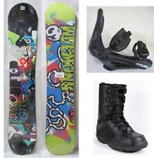 """NEW SNOWJAM """"RIOT"""" SNOWBOARD, BINDINGS, BOOTS PACKAGE - 149cm"""