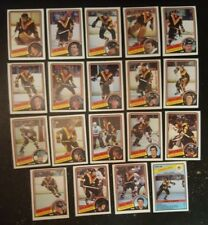 1984-85 OPC VANCOUVER CANUCKS Select from LIST NHL HOCKEY CARDS O-PEE-CHEE