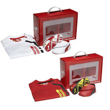 Puma Crib Pack Ferrari 2 Baby T Shirt & Shoes Top Trainers Slip On Red White