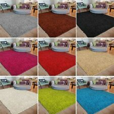 Non Shed Pile Modern Small Large Size Thick Plain Soft Shaggy Rug Carpet Rugs