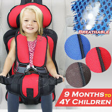 Useful Portable Safety Baby Auto Seat Toddler Infant Convertible Booster Chair