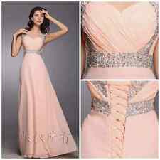 11 Colors New Long Chiffon Evening Formal Party Ball Gown Prom Bridesmaid Dress¥