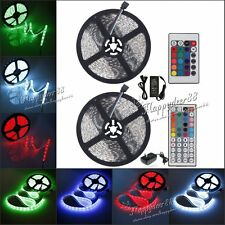 SMD 5050 Led Strip Flexible Lights 5M 300leds Tape Lamp For Home Garden KTV Xmas