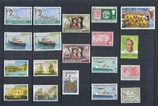 x9281 St Kitts Nevis Anguilla / A Small Collection Early & Modern Umm + Lhm