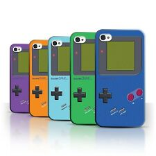 STUFF4 Back Case/Cover/Skin for Apple iPhone 4/4S/Video Gamer/Gameboy