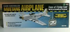4Ch Radio Remote Control Airplane Mustang P51 Warbird EP RC Airplane RTF - NEW !