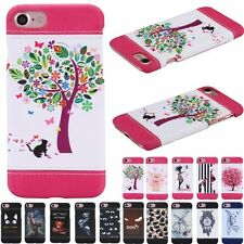 Fashion Ultra Slim Leather Wallet Hard Back Case Cover For Apple iPhone 7/7 Plus