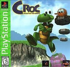 Croc - PS1 PS2 Complete Playstation Game
