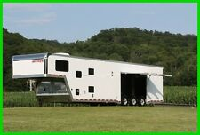 2017 ATC 44' ALUMINUM ENCLOSED CARHAULER TRAILER-12' LQ New