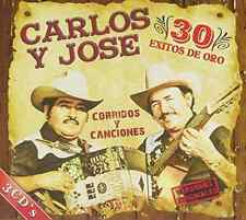 CARLOS Y JOSE-30 EXITOS DE ORO  CD NEW