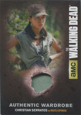 Walking Dead Season 4 Part 2 Wardrobe Card M47 Christian Serratos