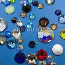 ss20 Authentic Swarovski (NO Hotfix) Crystal FLATBACK Rhinestone 20ss 5mm setM