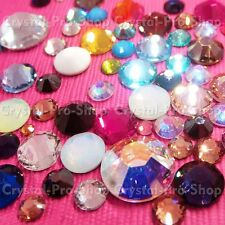 6ss Genuine Swarovski Hotfix Iron On Rhinestone nail Crystal 2mm ss6 setHB