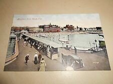 EARLY 1900s PC - BRIGHTON, SUSSEX - FROM WEST PIER - VGC