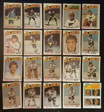 1976-77 OPC ST.LOUIS BLUES Select from LIST NHL HOCKEY CARDS O-PEE-CHEE
