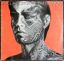 ROLLING STONES Tattoo you French LP 1981 Montreuil Offset