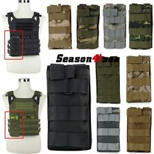 Tactical Molle 5.56 Magazine Radio Accessory Pouch Holster Bag for JPC Vest