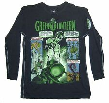DC Comics Trunk LTD Green Lantern Phantoms Kids Youth Black Longsleeve Shirt NEW