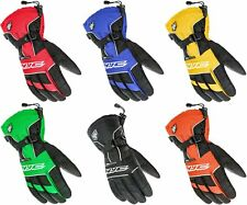 HJC Mens Storm Waterproof Insulated Fleece Lined Gauntlet Snowmobile Gloves