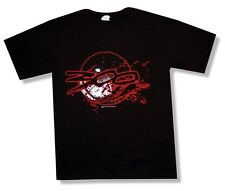 300 movie Dine in Hell Red Logo Black T Shirt New Official