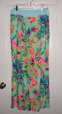 NWT LILLY PULITZER MULTI ISLAND TIME SEASIDE BEACH PANT L