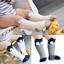 Baby Toddler Cute Fox Soft Cotton Leggings Warmer Leg Warmers Knee Long Socks