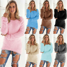 Fashion Womens Long Sleeve Sweater Collared Cardigan Kintting Tops Pullover Warm