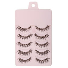 5 Pairs Fashion Makeup Handmade False Eyelashes Messy Cross Thick Eye Lashes