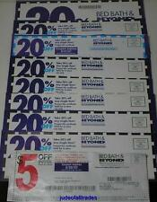 3 Bed Bath & Beyond Coupons (1) 20% OFF ENTIRE PURCHASE & (2) 20% OFF ONE Item