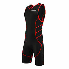 Zimco Elite Compression Triathlon Suit Racing Tri Run Bike Swim Cycling Suit 787