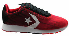 Converse Novo Racer Ox Mens Low Trainers Red Black 147428C D7