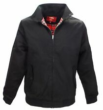 Merc Black Harrington Jacket`s