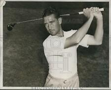 1939 Press Photo Golfer Dick Metz wins PGA at Pomonock club vs Paul Runyan