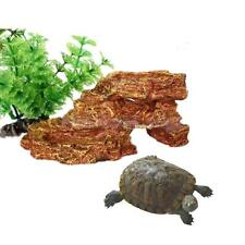 Vivarium Reptile Resin Aquarium Fish Feeder Ornament Terrarium Decoration