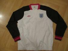 England Umbro football training white jumper top adult women's size 14 not shirt
