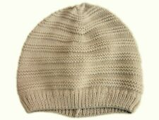 GAP Baby Boys Girls CREAM Unisex Beanie Hat Winter Stripe Knitted 0-12m Layette