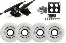 Randal 180 Black LONGBOARD TRUCKS BIGFOOT 70mm 81a STALKER WHITE Wheels