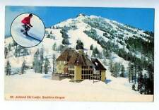 158498 Ski Friendly MT.ASHLAND SKI LODGE Southern Oregon OLD